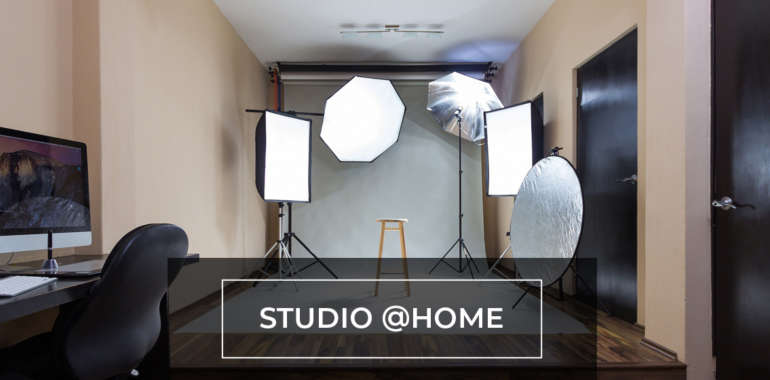 How to set up a bootstrapped studio at home
